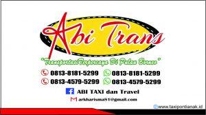 nomor telepon taxi dan travel pontianak sambas