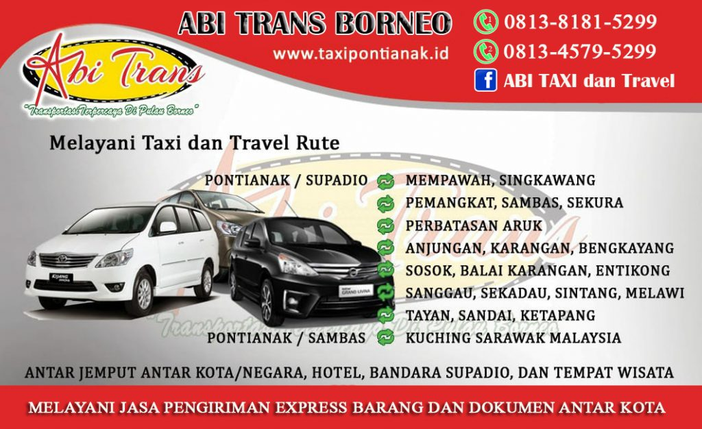 name card Abi Trans Borneo